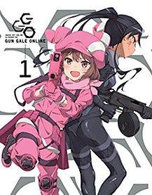 Sword Art Online Alternative: Gun Gale Online Blu-ray Parts 1-2